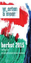 die neue verlagsvorschau für herbst 2015