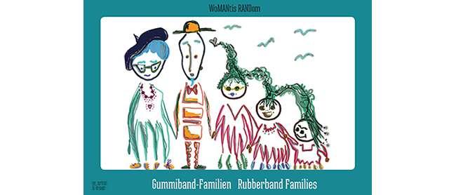Eine Rezension zum Gummiband-Familien-Buch