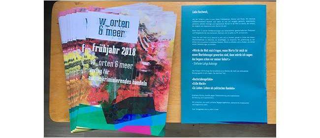Verlagsvorschau Frühjahr 2018