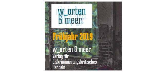 Verlagsvorschau Frühjahr 2019 w_orten & meer