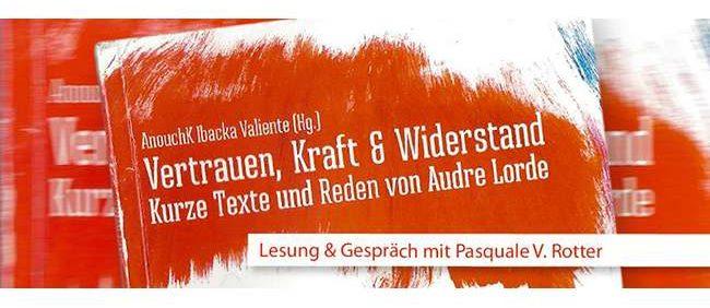 """Lesung aus """"Vertrauen, Kraft & Widerstand"""""""