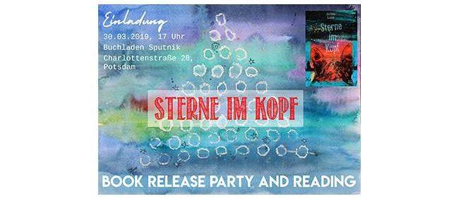 "Buchladen Sputnik Potsdam | Book Release ""Sterne im Kopf"""