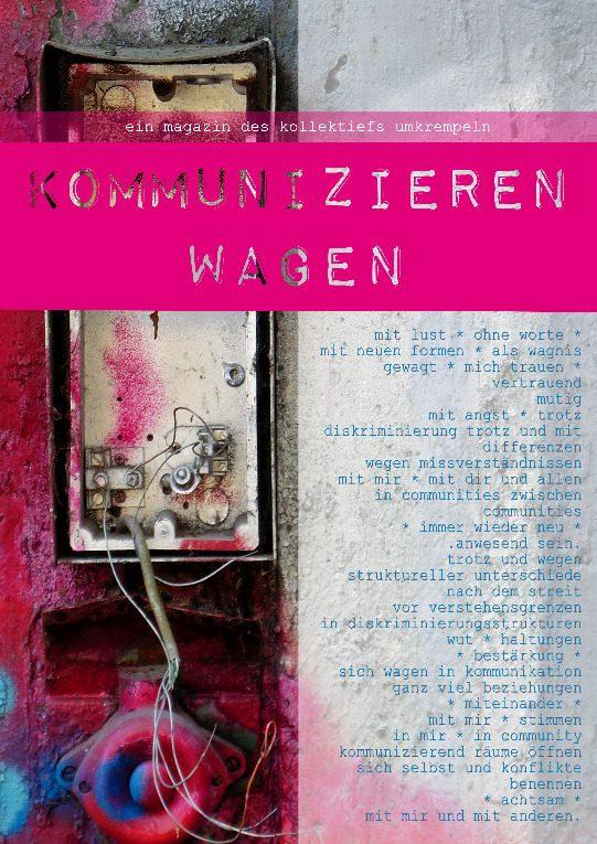 Buchcover: Kollektief Umkrempeln – Kommunizieren Wagen