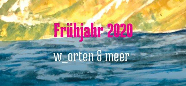 Ausschnitt aus dem Cover der gedruckten Verlagsvorschau Frühjahr 2020